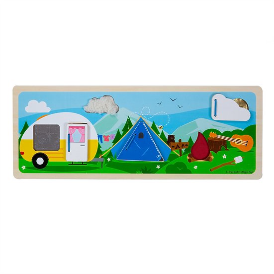 Tablette sensorielle - Camping nature