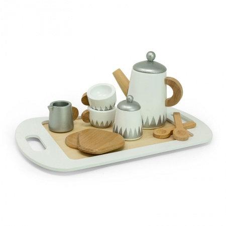 Service à thé sur plateau