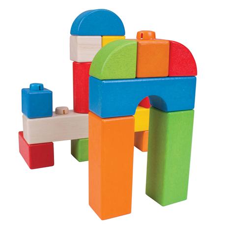 Click Blocks en bois - 100 pcs