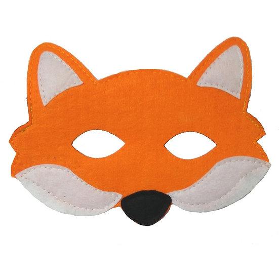 Masque en feutre - renard