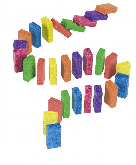 Rallye des dominos en pierre