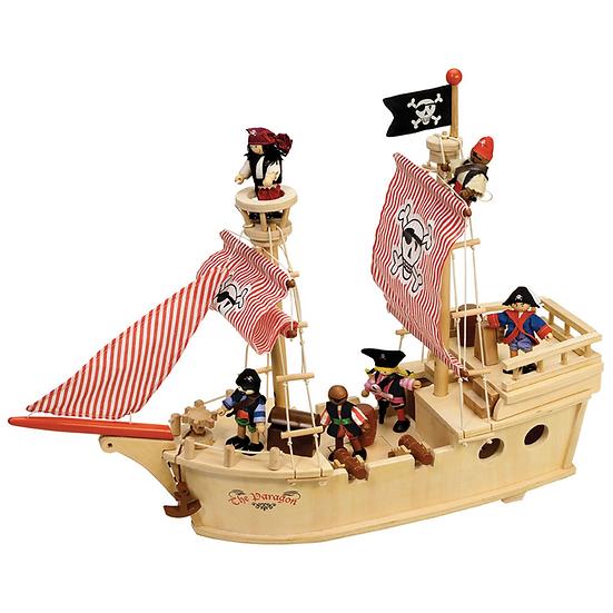 Le bateau pirate Paragon