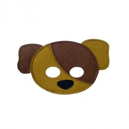 Masque en feutre - chien