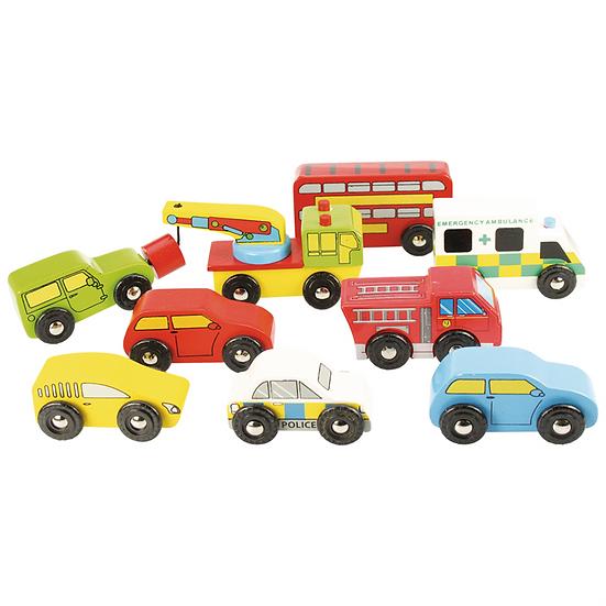 Set de 9 véhicules