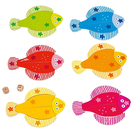 Les petits poissons - Peggy Diggledey