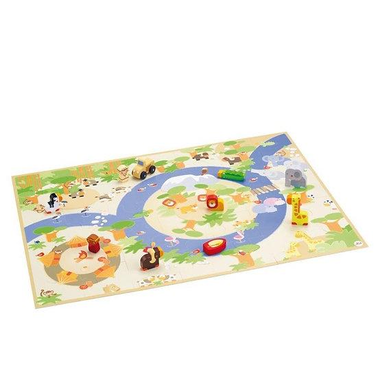 Puzzle Safari avec accessoires