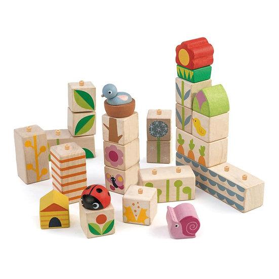 Blocs de construction - Jardin