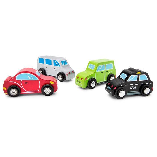 4 véhicules