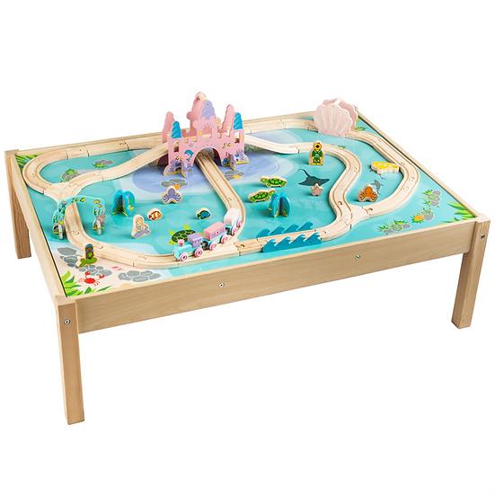 Kit de train sur table - Pays des Sirènes