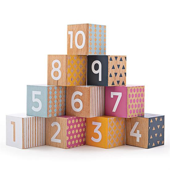Blocs en bois - chiffres