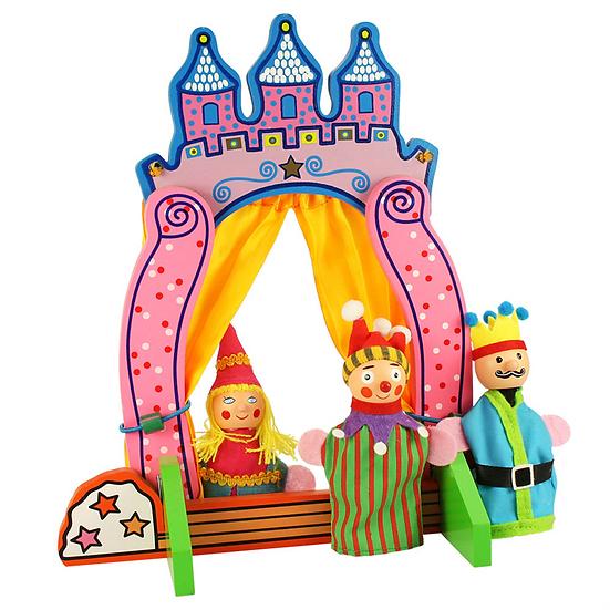 Théâtre de marionnettes à doigts