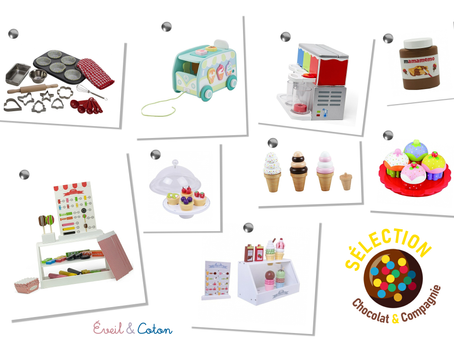 Sélection jouets - Chocolat & Compagnie