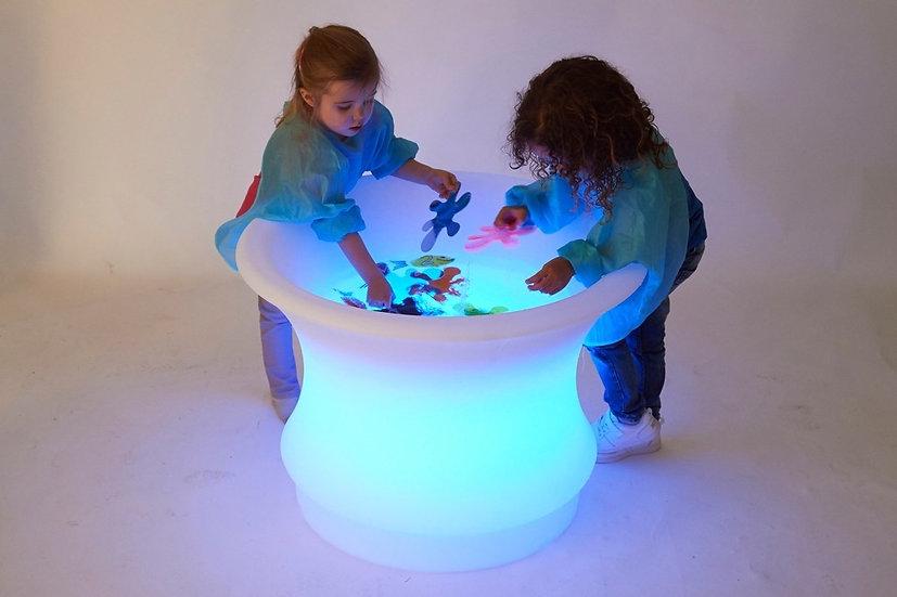Table à eau sensorielle