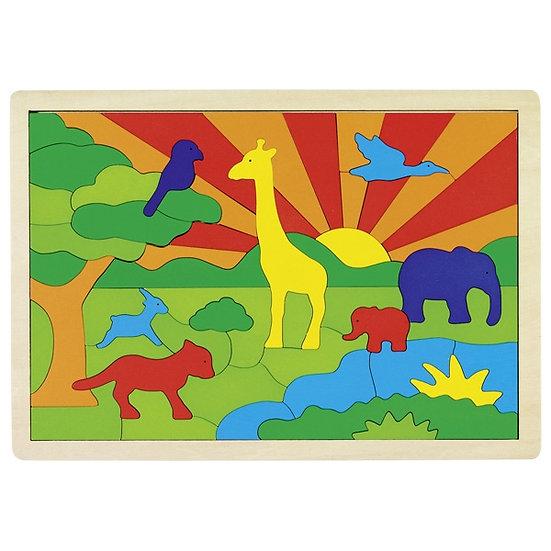 Jungle, puzzle