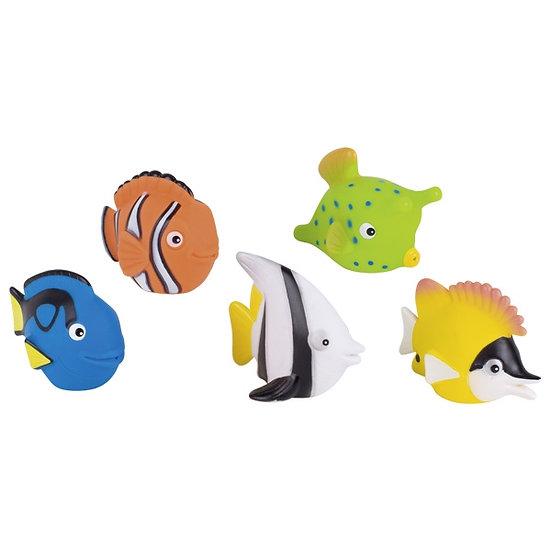 Animal cracheur d'eau, poisson