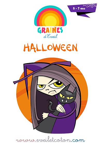 Halloween - 5/7 ans