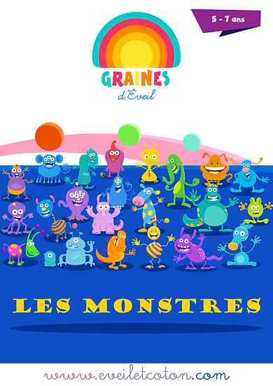 Les Monstres - 5/7 ans