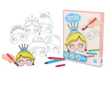 Kit Créatif : Fabrique tes masques Princesse