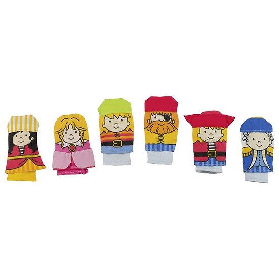 Assortiment de marionnettes à doigt - Pirates
