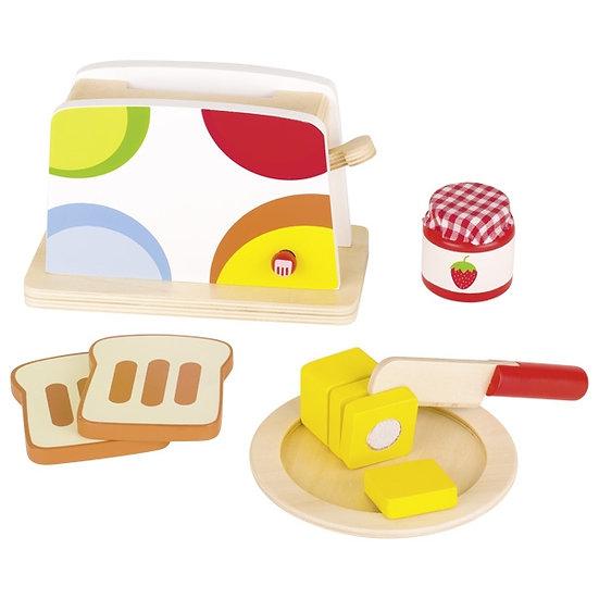 Grille-pain avec accessoires
