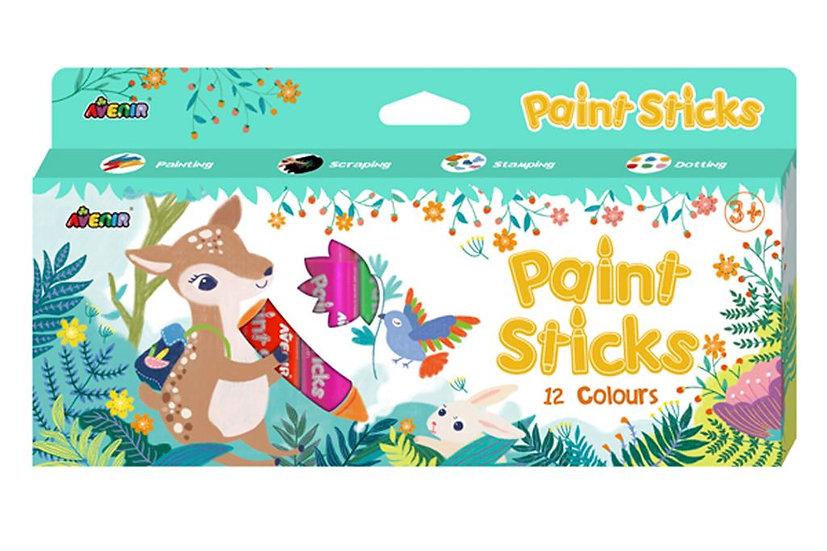 Crayons de peinture - 12 couleurs
