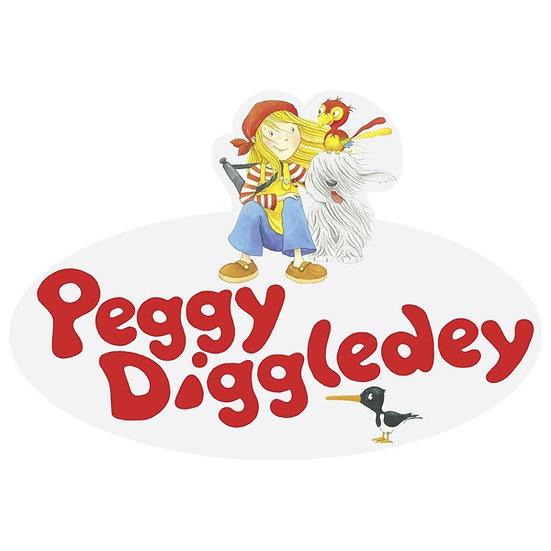 Logo à suspendre, Peggy Diggledey