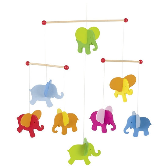 Mobile - éléphants