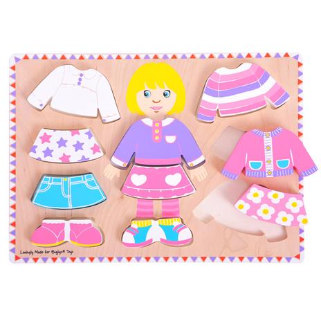 Puzzle à habiller - fille ou garçon