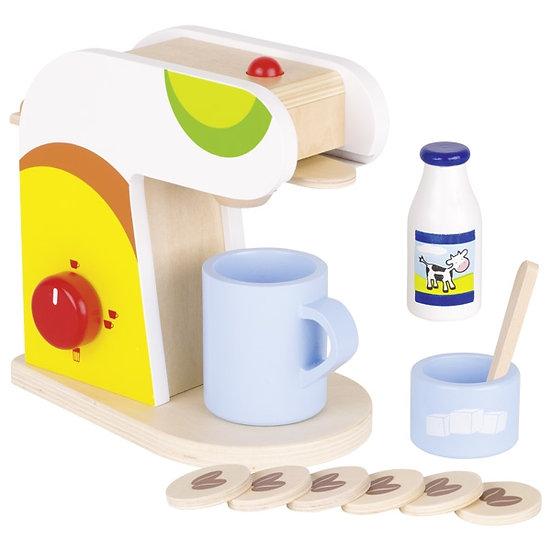 Machine à café avec accessoires