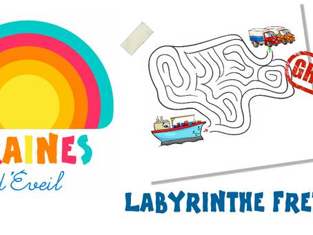 Cadeau Graines d'éveil : le labyrinthe Fret !