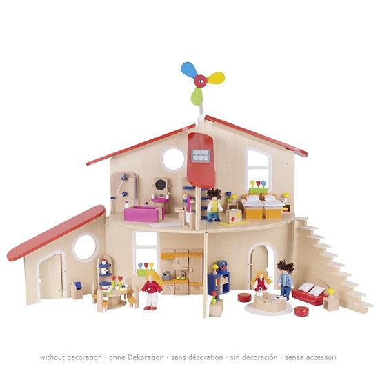 Maison de poupées écologique