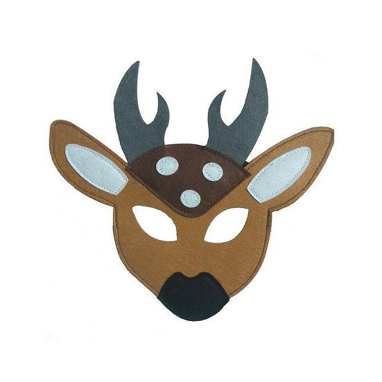 Masque en feutre - cerf