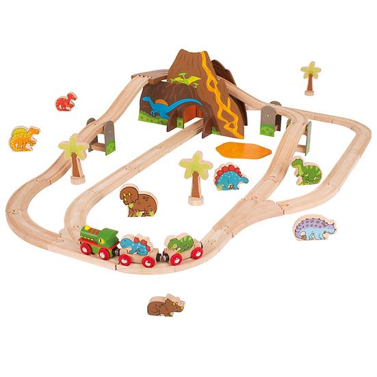 Kit de train - Dinosaures