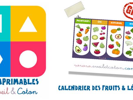 Calendrier des Fruits & Légumes