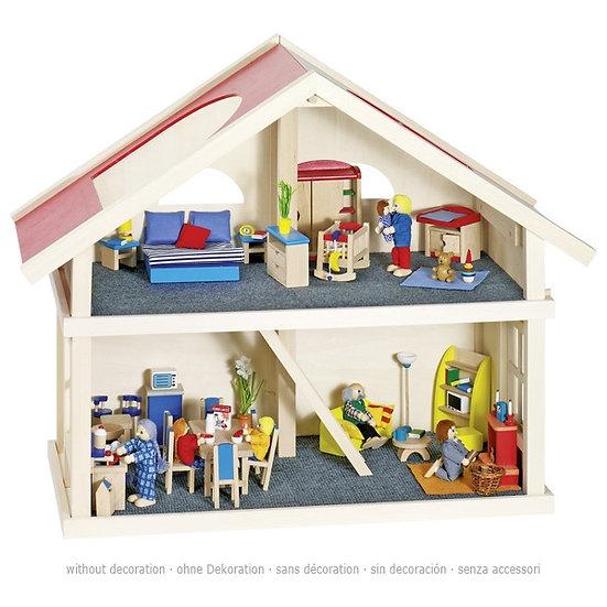 Maison de poupées - 2 niveaux