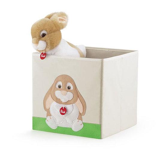 Caisse à jouets petit lapin Oliviero