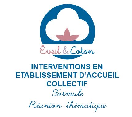 Intervention en établissement - Formule Réunion thématique