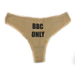 Thong - BBC Only - Tan-Black