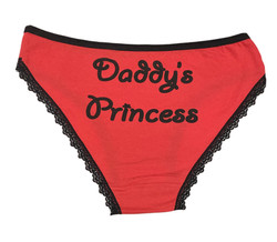 Panty2 - Daddy Princess - Red