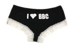Panty - IHeartBBC - BlackWhite
