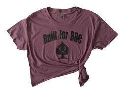 Built For BBC - Crop Crew - Purple Black