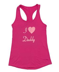 Love Daddy - Tank - PinkPink