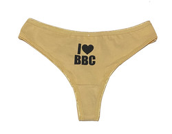 Thong - I Love BBC - Tan