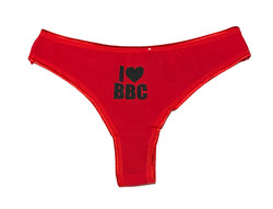 Thong - I Love BBC - Red