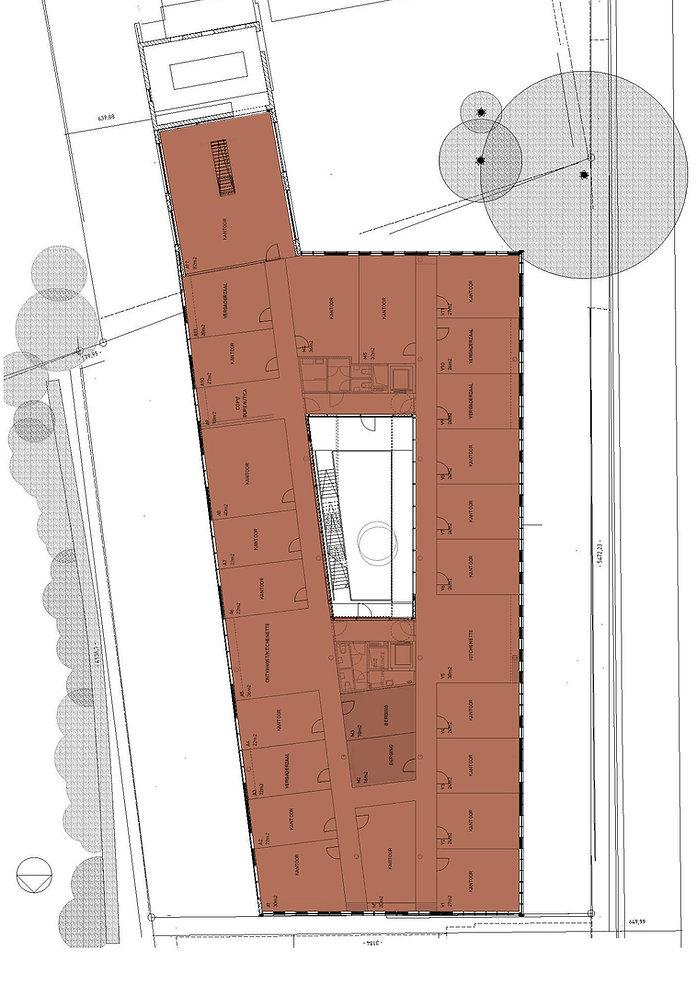 verdiepingsplan bedrijvencentrum