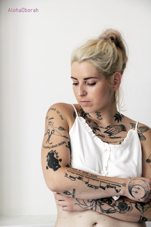 femme tatouée, tatouage, lucie veyries, blog, lifestyle