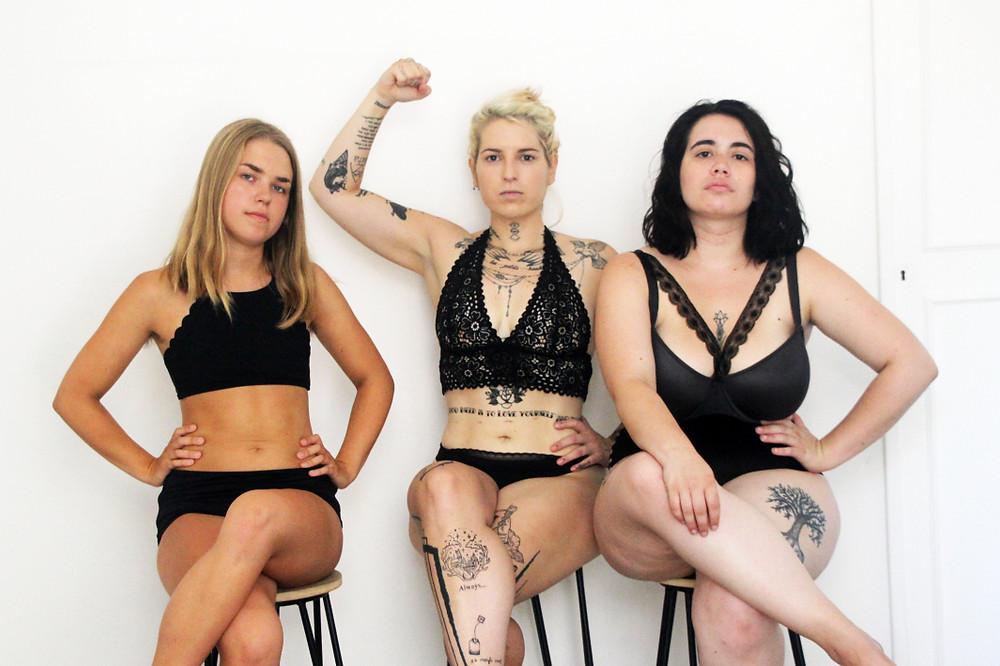 girl power, bodypositive, influenceuses