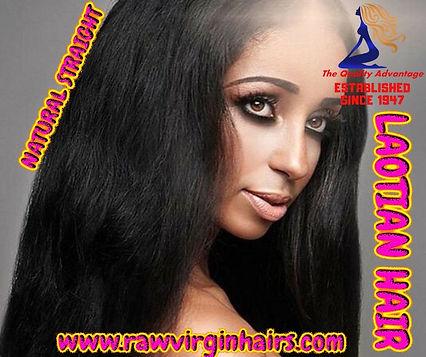 Laotian Natural Straight Hair