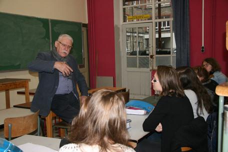 """Rencontre avec l'écrivain belge Jules Boulard pour les 5G """"Activités littéraires"""""""