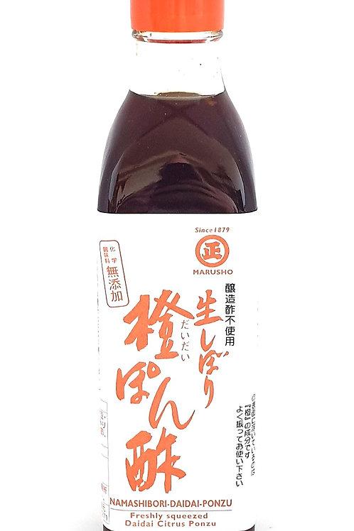 Namashibori Ponzu au Daidai - 300ml